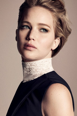 Jennifer Lawrence là Ngôi sao giải trí của năm 2015