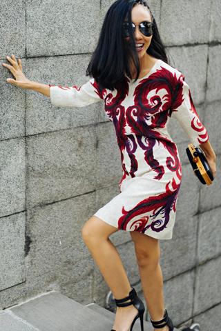 Đoan Trang khoe street style sành điệu
