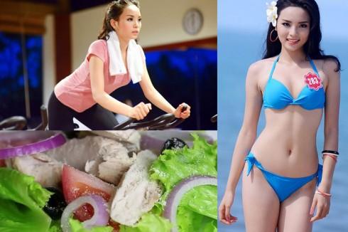 Bí quyết giảm cân, giữ dáng của Hoa Hậu Kỳ Duyên