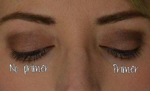 Khi sử dụng kem lót cho mắt, màu sắc phấn sẽ trở nên nổi bật hơn, đúng màu và bám lâu hơn bình thường