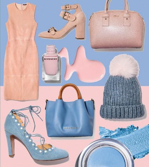 Trang phục và phụ kiện mang 2 màu sắc của Color of The year mang tính ngọt ngào và trẻ trung cho người mặc