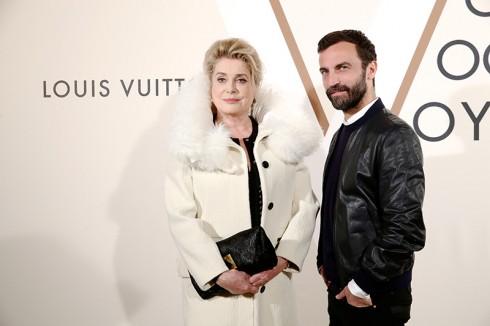 Catherine Deneuve & Nicolas Ghesquiäre