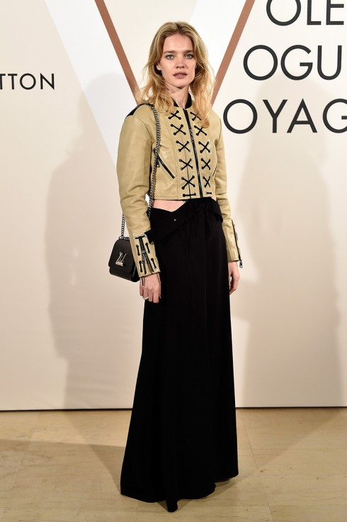 Natalia Vodianova<br/>PARIS, FRANCE - DECEMBER 03:  Natalia Vodianova attends the 'Volez, Voguez, Voyagez - Louis Vuitton' Exhibition Opening at Le Grand Palais on December 3, 2015 in Paris, France.  (Photo by Rindoff/Le Segretain/Getty Images for Louis Vuitton) *** Local Caption *** Natalia Vodianova