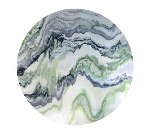 Mặt đá Marble nhập khẩu từ Ấn Độ với những gam màu đan xen như một tác phẩm thủy mặc độc đáo.