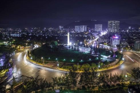 Cảnh đẹp ban đêm nhìn từ Pullman Vung Tau.