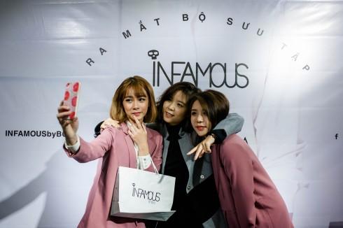 NTK Minh Anh dành nhiều thời gian để tư vấn và giao lưu với các fashionista