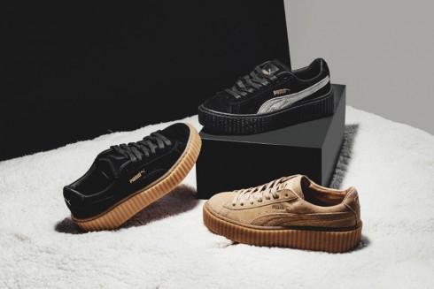Một trong số những mẫu thiết kế giày của Rihanna mùa thu năm 2015