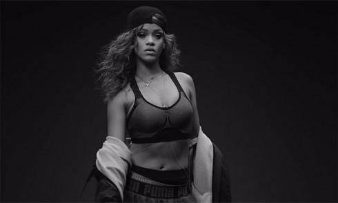 Rihanna là gượng mặt đại diện cho những thiết kế của mình cho Puma