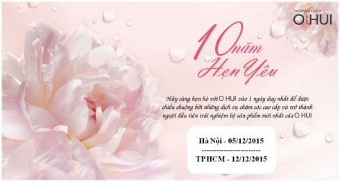 """OHUI tổ chức ngày hội """"O HUI – 10 năm hẹn yêu"""""""