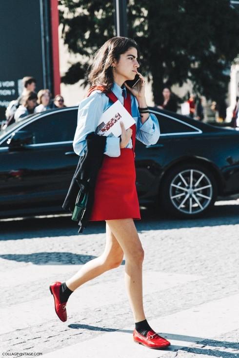 Hầu như không một mùa thời trang nào lại thiếu bóng màu đỏ, từ sàn diễn cho đến đường phố.