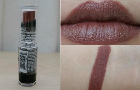 Wet N Wild Lipstick Mochalicious