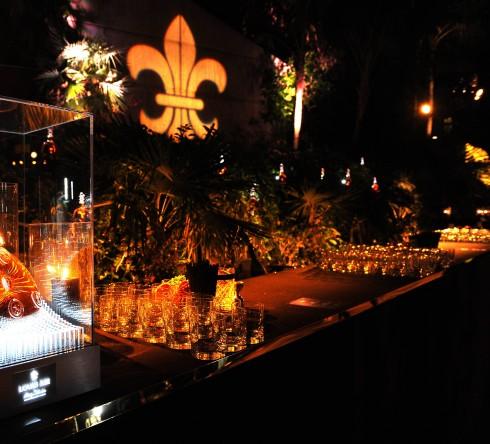 Sau sự kiện giới thiệu độc quyềnnày, LOUIS XIII đã tổ chức buổi tiệc riêng tư rất sang trọng  tại Club James. Buổi tiệc kỷ niệm vời sự trình diễn của Hudson, âm nhạc Zen Freeman.