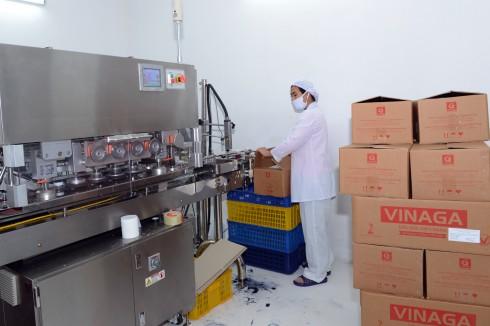 Dây chuyền sản xuất hiện đại mang đến những sả phẩm chất lượng tốt nhất.