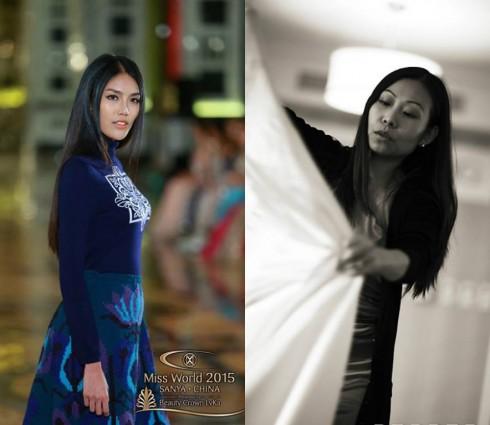 """Jane Wang, đại diện thương hiệu thời trang nổi tiếng Trung Quốc - 1436 Erdos phải thốt lên rằng: """"Hoa hậu Việt Nam có những bước catwalk vô cùng tuyệt vời. Cô ấy walk như 1 con mèo. Cô ấy hầu như là lướt đi trên sàn catwalk. Khi cô ấy bước ra cả khán phòng như bị thôi miên theo từng chuyển động của cô ấy""""."""
