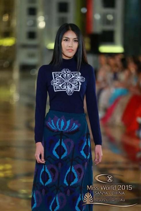 Vietnam trong phần thi top model