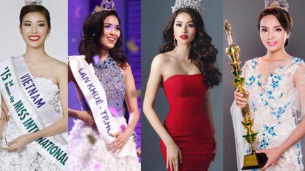Bí quyết giảm cân, giữ dáng của các Hoa hậu Việt Nam