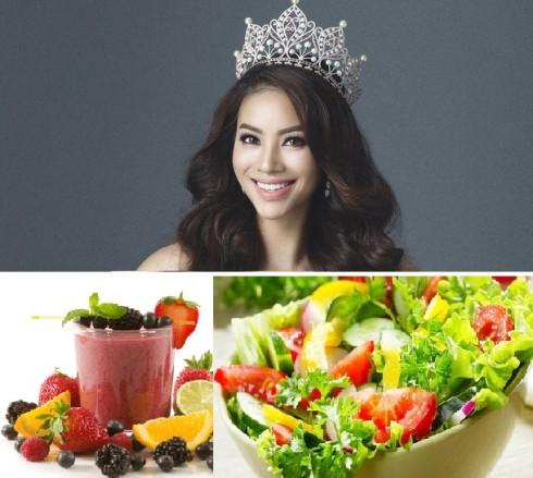 Bí quyết giảm cân của hoa hậu Phạm Hương