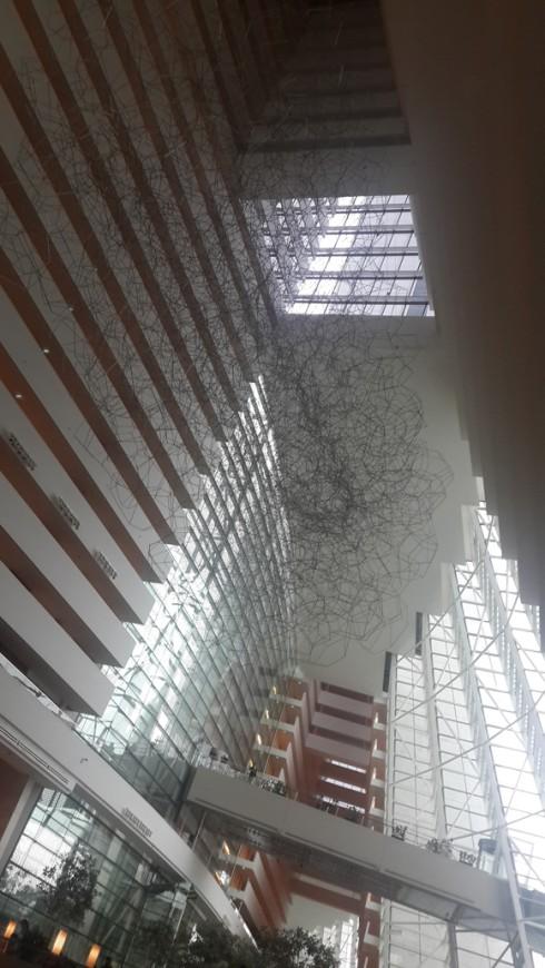 Bên trong tòa nhà Marina Bay Sand