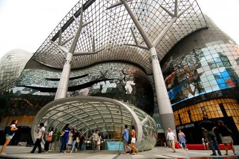 Kiến trúc hiện đại hoành tráng