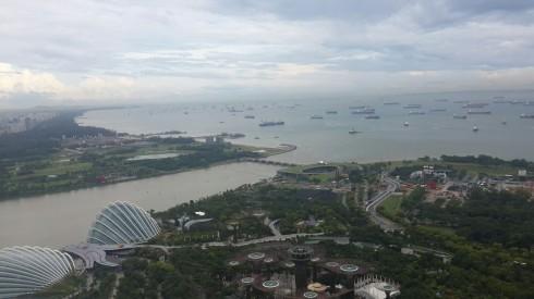 Khu vực cầu cảng của Singapore