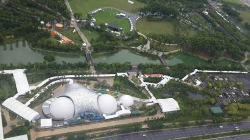 Một khu vực khác của Singapore ngắm nhìn từ trên cao