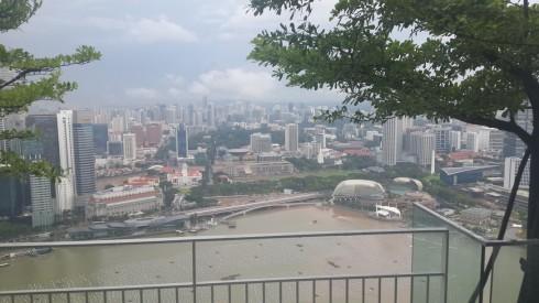 Toàn cảnh Singapore ngắm nhìn từ Sky On 57