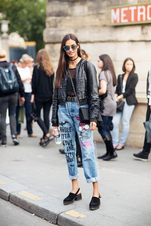 Tùy vào mỗi phong cách mà quần jeans nữ bạn chọn sẽ có độ rộng khác nhau.
