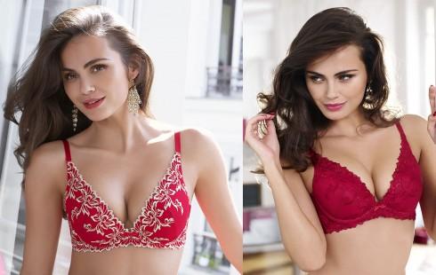 Nội y màu đỏ tăng sức nóng bỏng cho các cô nàng mặc nó
