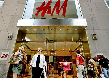 Cửa hàng H&M ở khu mua sắm Soho