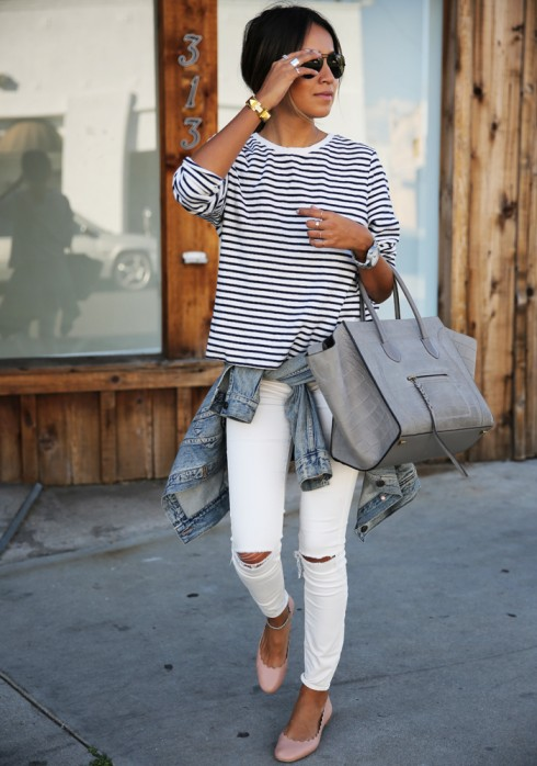 Giày búp bê không những thời trang mà còn khiến bạn thoải mái với đôi chân