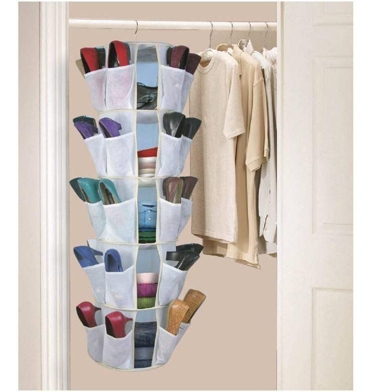 Mẹo sắp xếp quần áo thông minh và tiện dụng