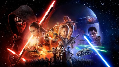 Poster của bộ phim Star Wars: The Force Awakens