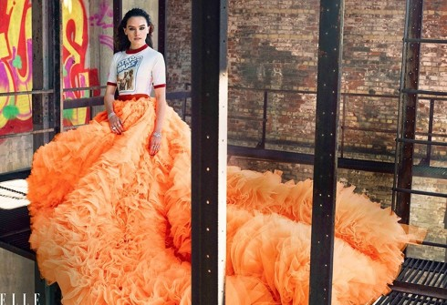 Daisy Ridley trên tạp chí ELLE