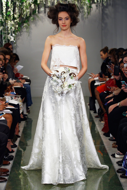 Xu hướng thời trang áo cưới Xuân-Hè 2016 - ELLE.VN