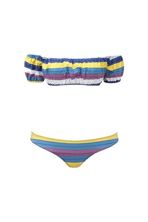 Lisa Marie Fernandez Leandra Striped Bikini (lisamariefernandez.com)