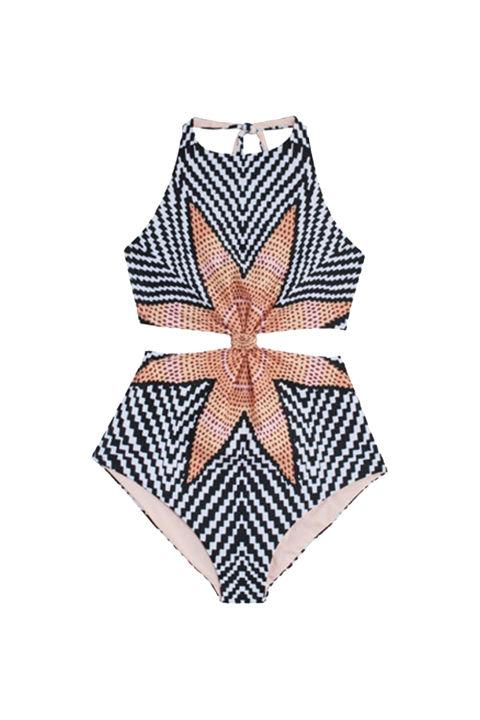Mara Hoffman Starbasket Knot Front 1 Piece (bonadrag.com)