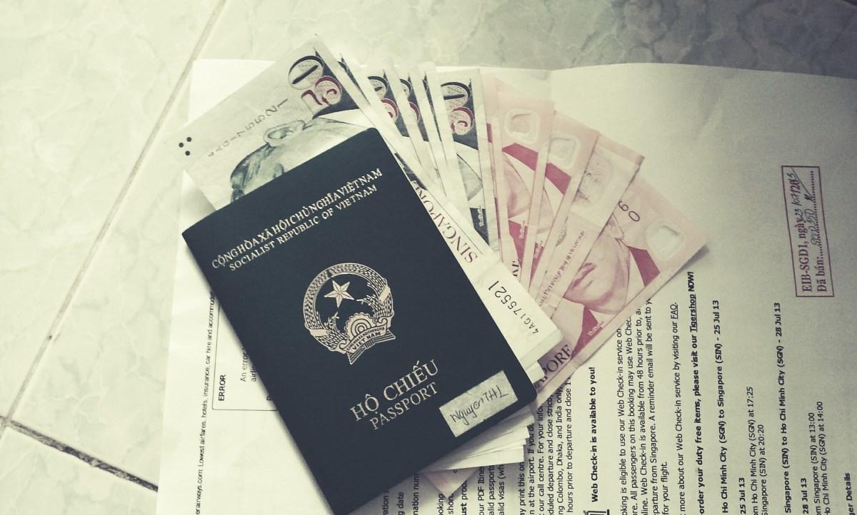 Điều kiện đầu tiên để đi du lịch nước ngoài là việc bạn phải có Hộ