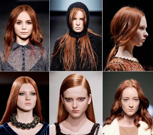 Tóc đỏ sẽ giúp gương mặt của bạn trông hồng hào, có sức sống và dễ thương hơn