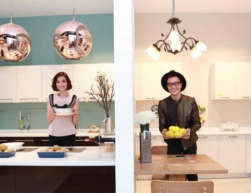 Các khách mời thích thú với không gian bếp sinh động của Index Living Mall