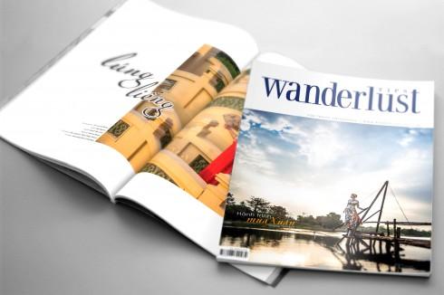 Ấn phẩm song ngữ Việt - Anh Wanderlust Tips dành cho các tín đồ đam mê dịch chuyển.
