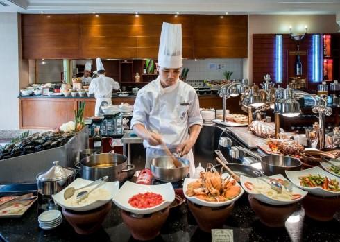 Không khí đại dương sẽ bao trùm nhà hàng Oven D'or trong tháng này với những món hải sản hấp dẫn.