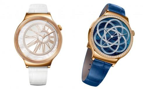 Huawei Watch Elegant & Huawei Watch Jewel (từ trái sang)