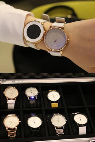 Mẫu đồng hồ Martian Kindred VIP có vỏ ngoài bằng chất liệu thép không rỉ với nhiều màu sắc đa dạng.