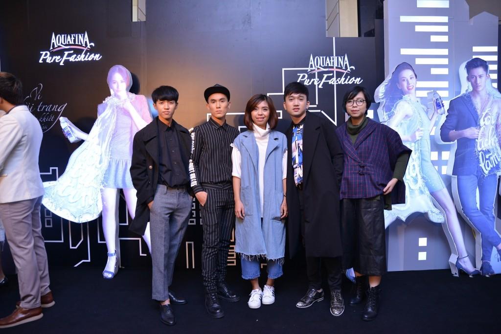 Top 5 Aquafina Pure Fashion trước đêm thi Chung kết.
