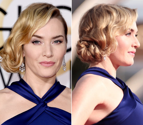 Faux Bob là lựa chọn tuyệt vời cho Kate Winslet