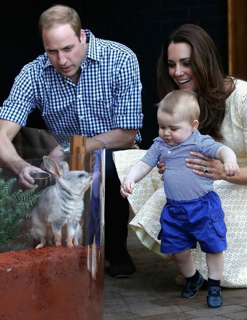 Gia đình nhỏ của Kate Middleton và Hoàng tử William