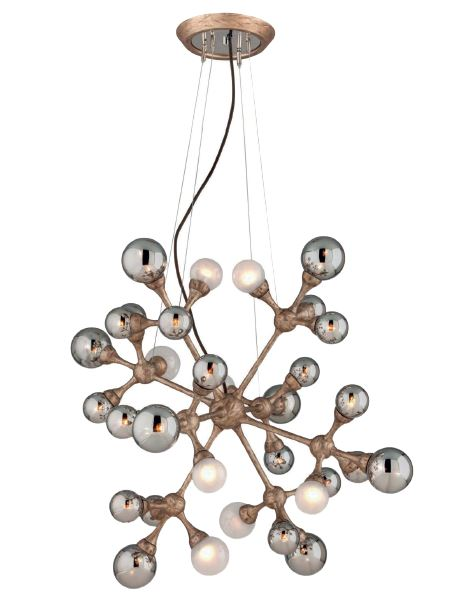 Element có thể trở thành đèn treo hoặc được lắp lên tường, phù hợp với cả phong cách hiện đại hoặc rustic.