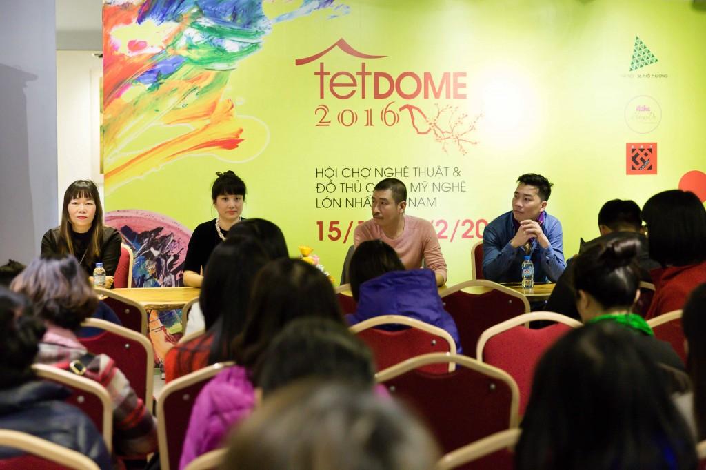 Họp báo giới thiệu sự kiện Tết DOME 2016 - Tết trong ngôi nhà Việt.