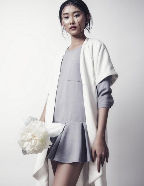 Người mẫu Thùy Dương đẹp tinh khôi trong bộ ảnh mới 09 ELLEVN
