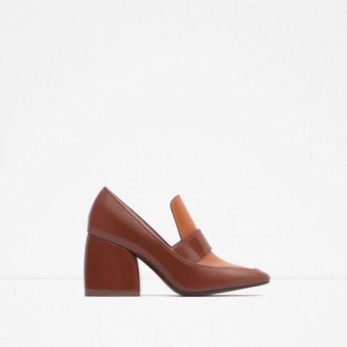Xu hướng thời trang mới: Giày nữ đế loe 11